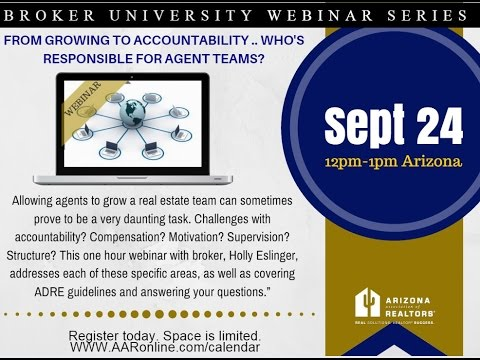 Broker University: Building Teams 9.24.2015
