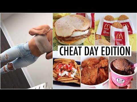 What I Eat In A Day: CHEAT DAY EDITION