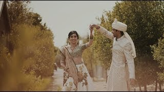 Groom surprises the bride with an epic dance - Indian Wedding in Napa