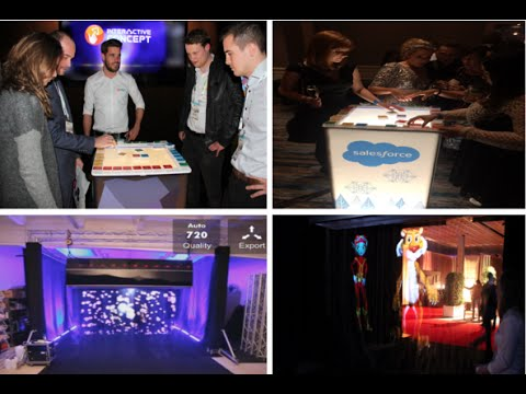 Unique Event Entertainment, Eye Catchers and Booth Experiences from Interactive Concept