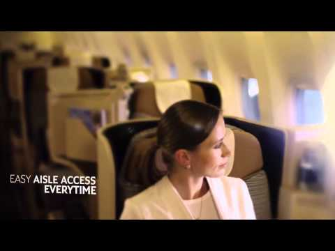 Business Class, Etihad Airways - Unravel Travel TV