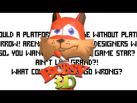 DX Plays - Bubsy 3D (Life Ain't Grand)