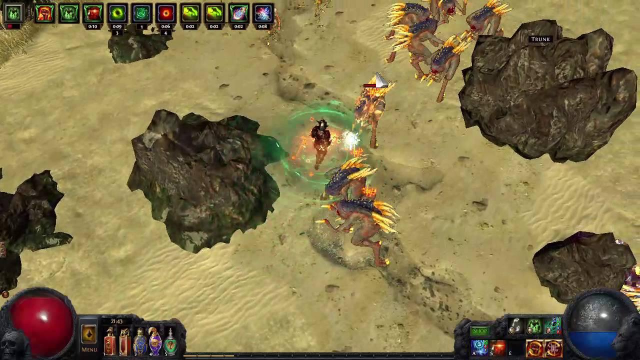 Path Of Exile Ek Nova Elementalist Canyon