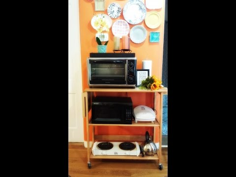 How to Create a Kitchenette for a Studio Apartment