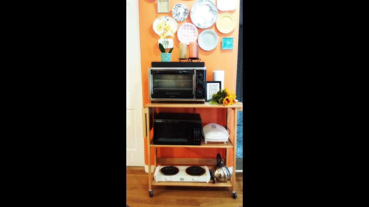 How To Create A Kitchenette For A Studio Apartment   YouTube