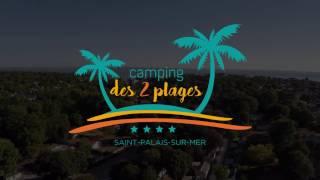 Camping des 2 plages à Saint Palais Sur mer 600m des plages