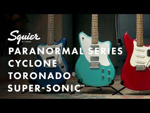 Exploring the Paranormal Series Cyclone, Toronado and Super Sonic Models   Fender