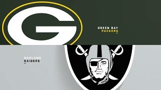 How the Oakland Raiders will beat the Greenbay Packers!