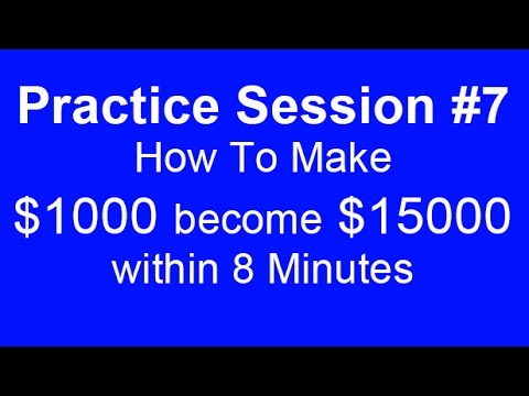 Practice Trading Binary Options With A Demo Account