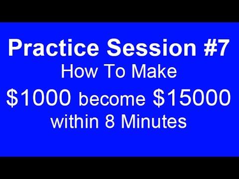 ⭐️binary trading practice