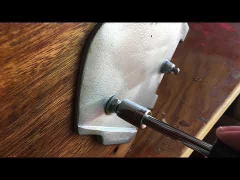 Sunfish Rudder Parts New Style