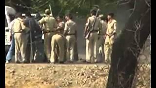 real news mandsaur  police ki dadagiri