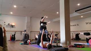 Shoulders and Core Strength in Pilates Matwork with Props at Soulful Fitness Lane Cove