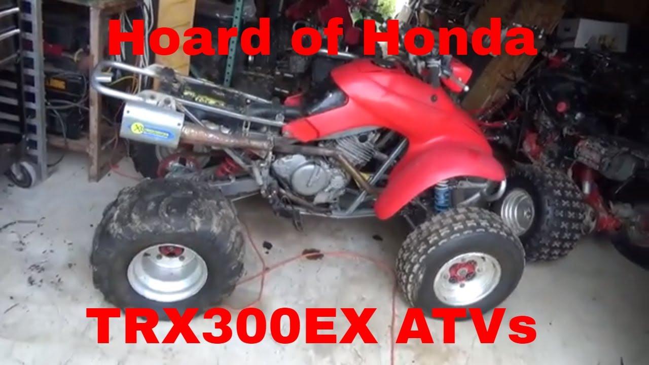 Honda Trx250x Engine Weather Damaged  Hoard Of Honda