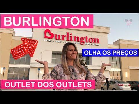 BURLINGTON Compras em Orlando com PREÇOS no Viajar Muda Tudo!