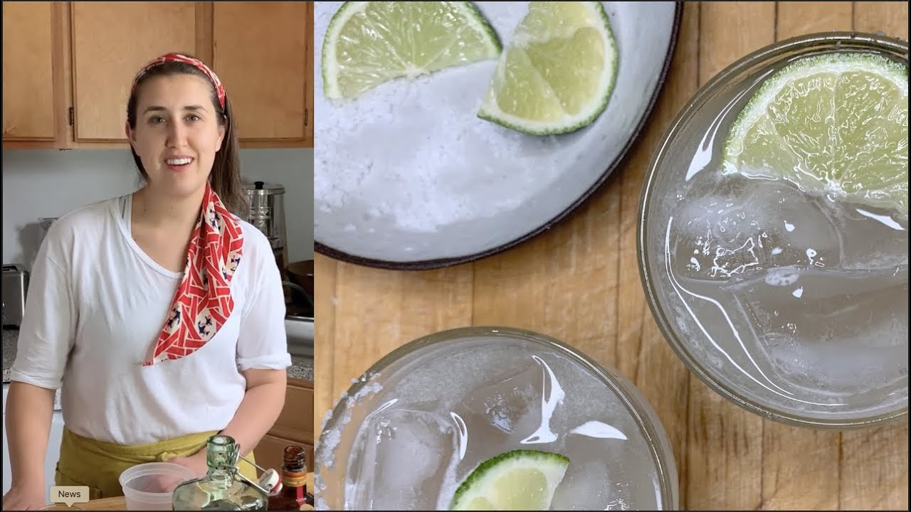 Lauryn Makes A Classic Margarita - #StayHome #WithMe