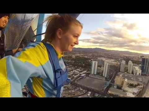 Sky jump Las Vegas Xmas 2012 Binks