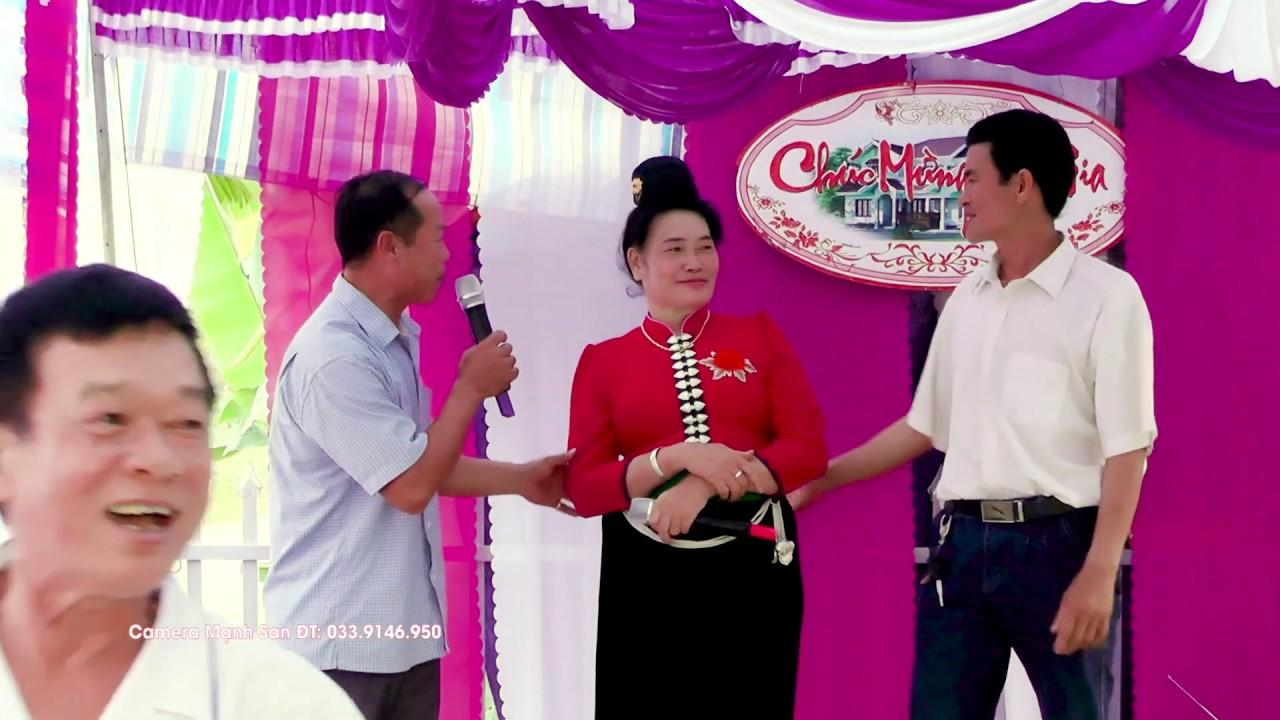 Hát Thái hay nhất – Lường Thị Song – Quàng Thị Tích hát mừng nhà mới Phần 8