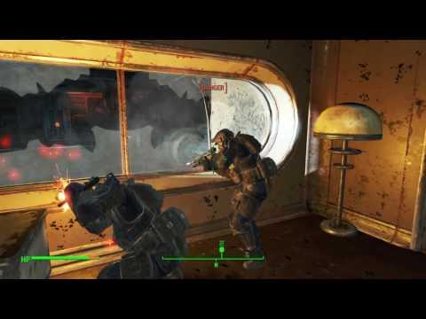 Fallout 4: Minutemen Commandos raid the Institute *Spoilers*