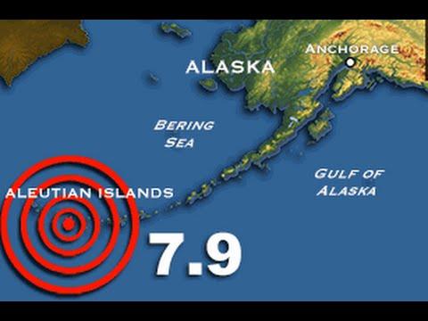 Earthquakes in the Aleutians - Rhett Butler