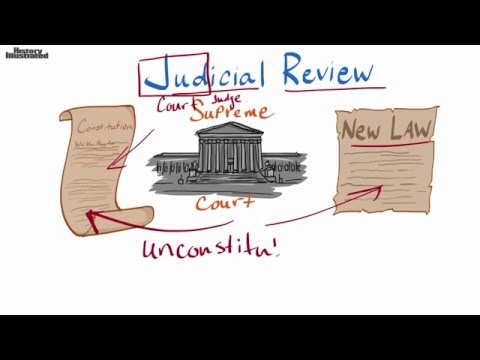 Judicial Review Definition for Kids