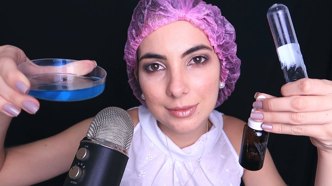 ASMR Binaural Skincare Product Spa Roleplay - YouTube