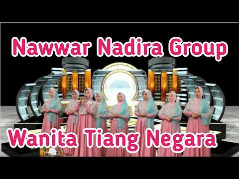 Juara 1 Qasidah klasik majelis taklim Nawwar Nadira - wanita tiang negara