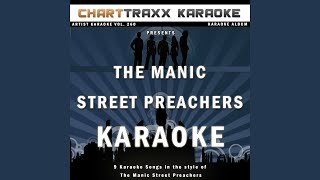 Motorcycle Emptiness (Karaoke Version In the Style of the Manic Street Preachers)