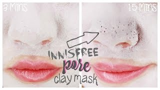 Innisfree Jeju Volcanic Pore Clay Mask Review | PORES!