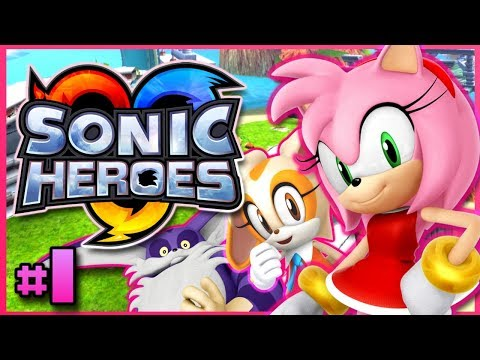 Team Rose Play Sonic Heroes  - Seaside Sonic Chase !!