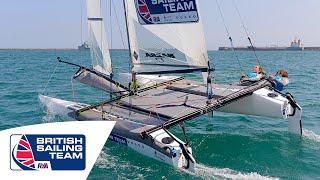 Olympics 2016 - Nacra 17 - Ben Saxton & Nicola Groves - British Sailing Team