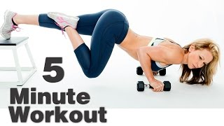 5 Minute Workout #56 - ABS!!