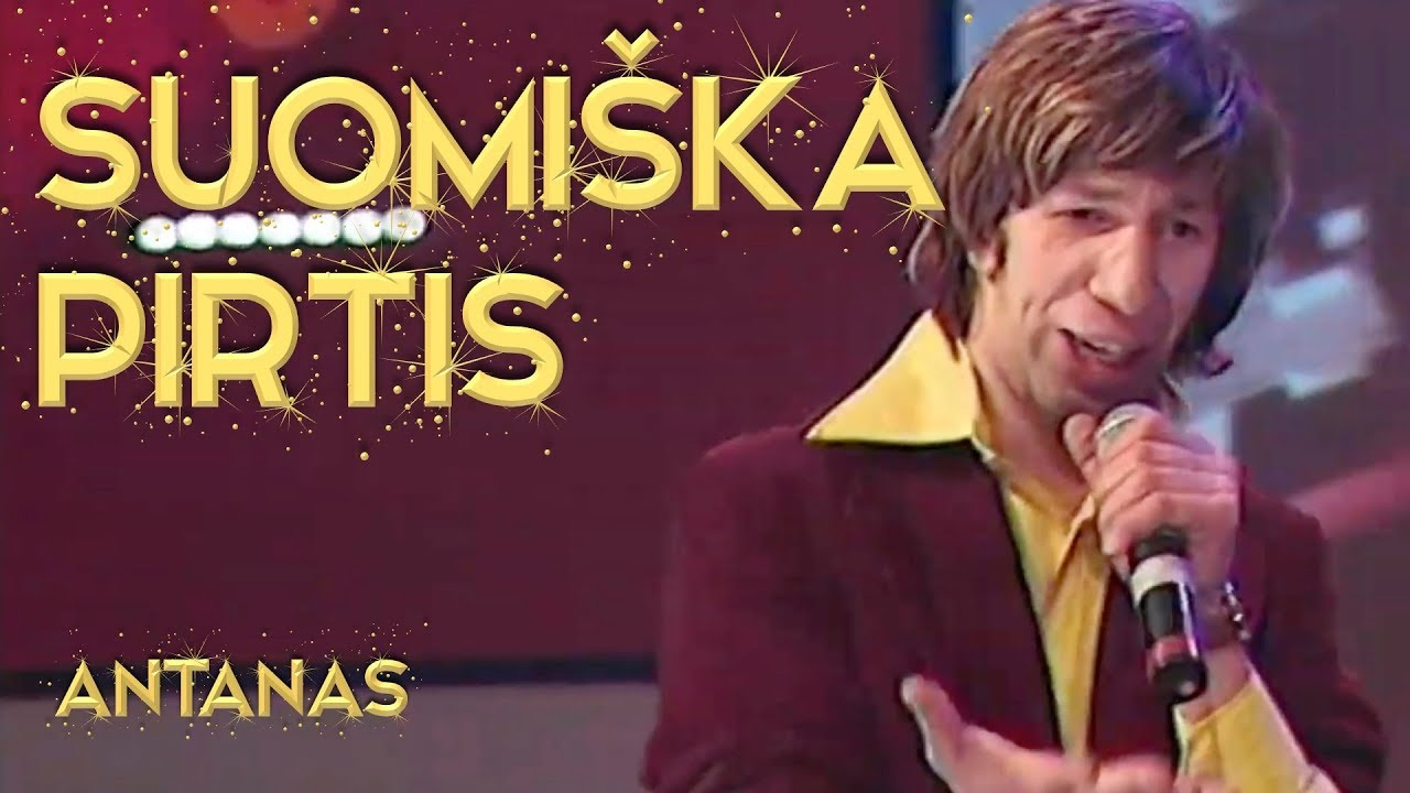 Antanas – Suomiška Pirtis (Official Live Video). Top Lietuviškos Dainos.