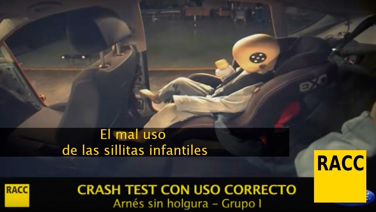 racc test sillas auto
