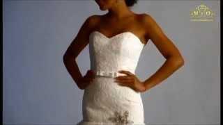 Свадебное платье Санта, шлейф, производство