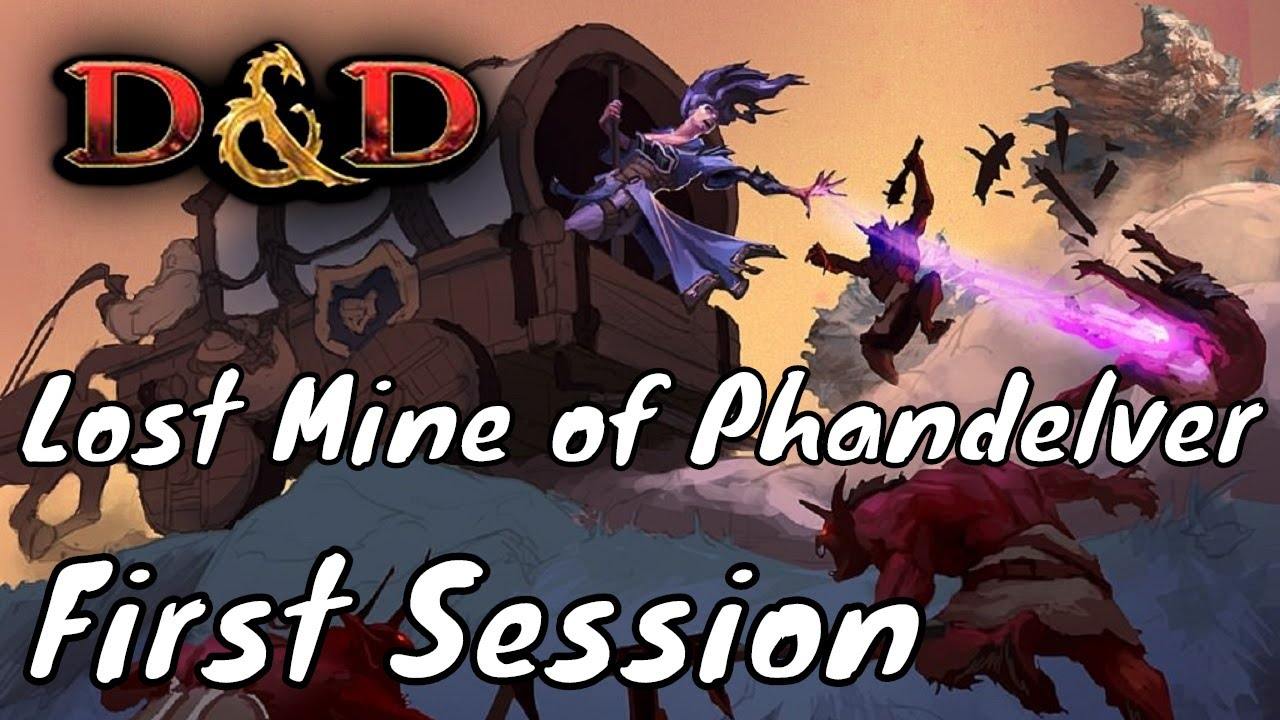 First Session of Lost Mine of Phandelver (DM Guide)