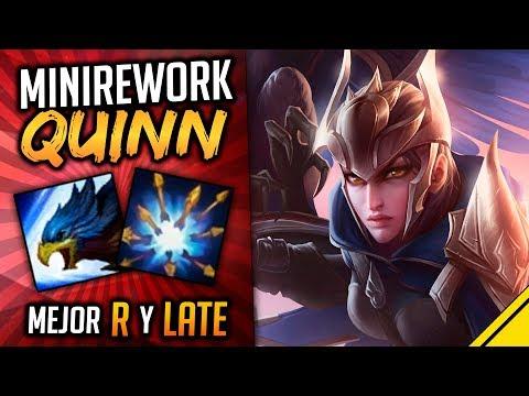 Mini REWORK QUINN - Mejor R y LATE | Noticias Jota LoL League Of Legends