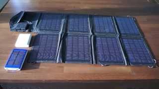 """Солнечная панель на 28W """"PETC-S28T"""" [ПОЛНЫЙ ТЕСТ]"""