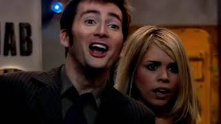 the doctor and rose being a comedic duo