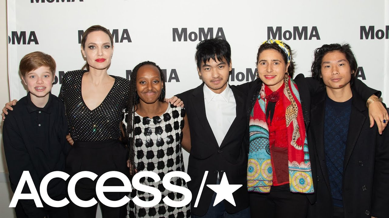 Angelina Jolie Porn Look A Like angelina jolie's kids look all grown up during night out at nyc film  festival | access