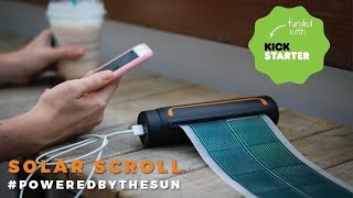 SOUL Scroll Solar Chargers
