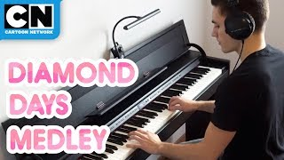 Steven Universe | Diamond Days Piano Medley | Cartoon Network