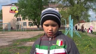 Праздник труда в донецкой общеобразовательной школе-интернате №1