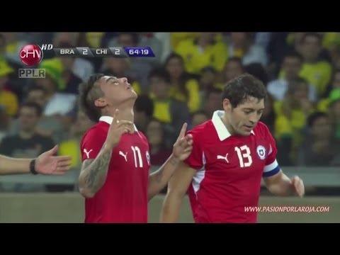 Brasil 2 - 2 Chile - Amistoso 2013