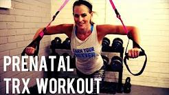 20 Minute Prenatal TRX Workout