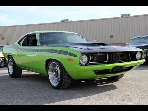 1972 Plymouth Barracuda For Sale - YouTube