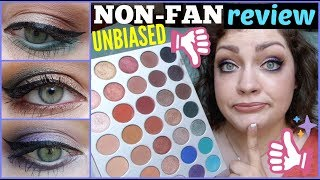 Morphe x Jaclyn Hill Eyeshadow Palette | UNBIASED NON-FAN Review, Swatches, & Tutorials!