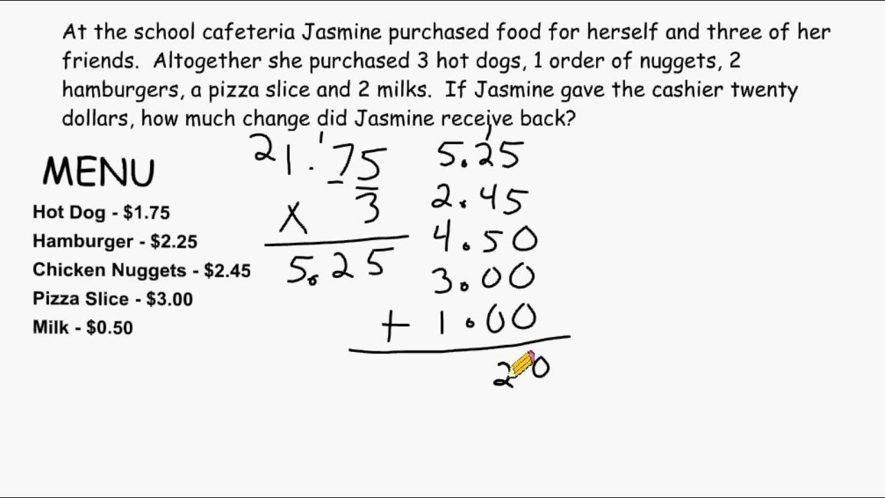 decimals problem solving