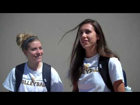 Corban Volleyball Post-Game Interview vs. New Hope Christian College