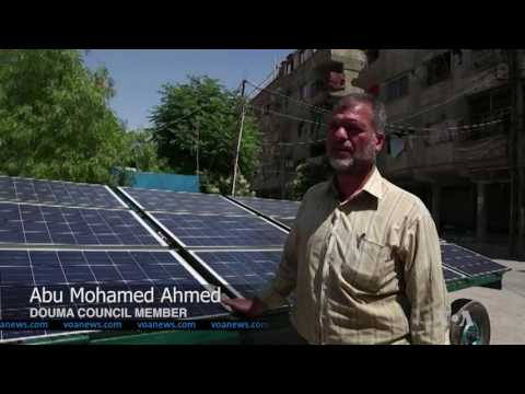 Solar Panels Have Become Major Source of Energy in Ravaged Syrian Communities